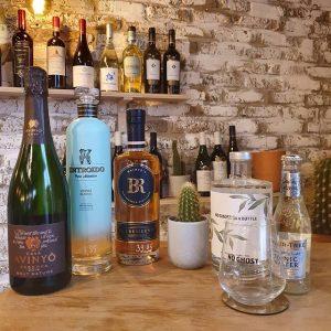 Ruim aanbod aan cocktails en digestieven bij Vinifera